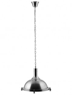 Bell Silver Pendant Light 237x315