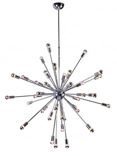 Sputnik large silver chandelier  237x315