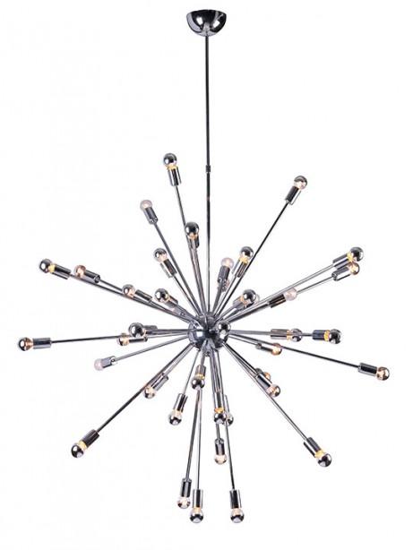 Sputnik large silver chandelier  461x614