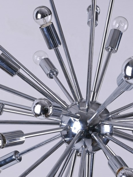 Sputnik large silver chandelier 2 461x614