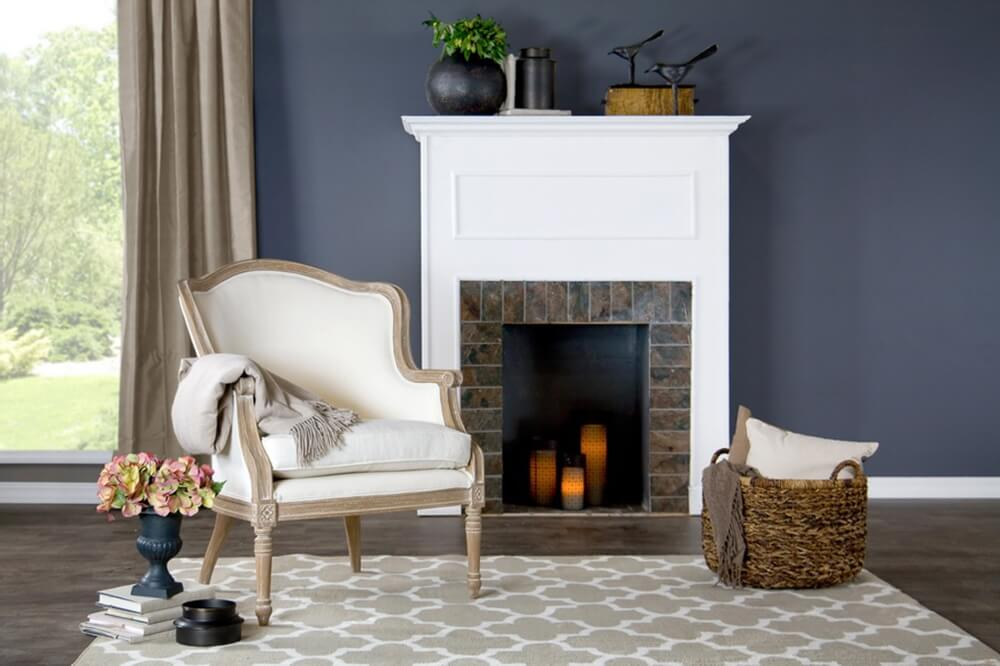 french accent chair oak wood 2
