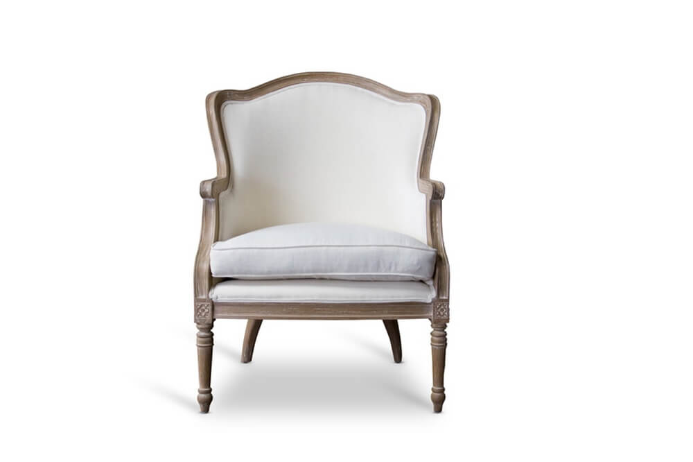 french accent chair oak wood 6