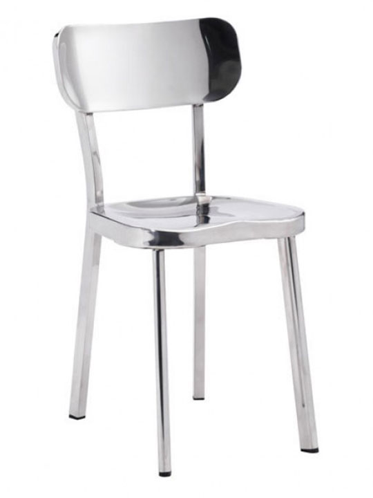Metallic Chrome chair