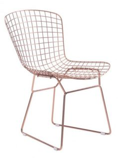 Rose Gold Wire Dyson Chair 2 237x315