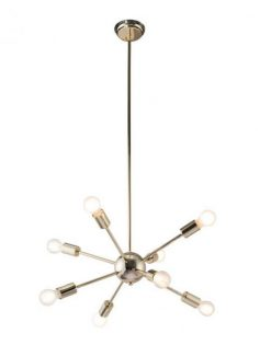 Sputnik Space Gold Chandelier 237x315