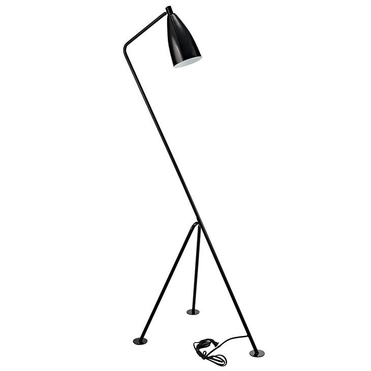 black retro floor lamp 4
