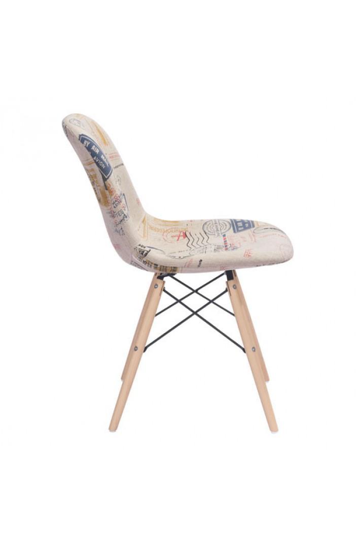 fabric eames chair