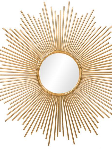gold starbust mirror 461x614