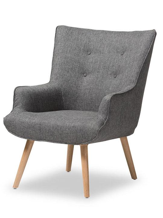 Habitat Armchair Modern Furniture Brickell Collection
