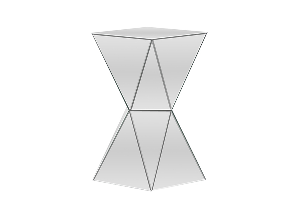 mirror prism side table 4