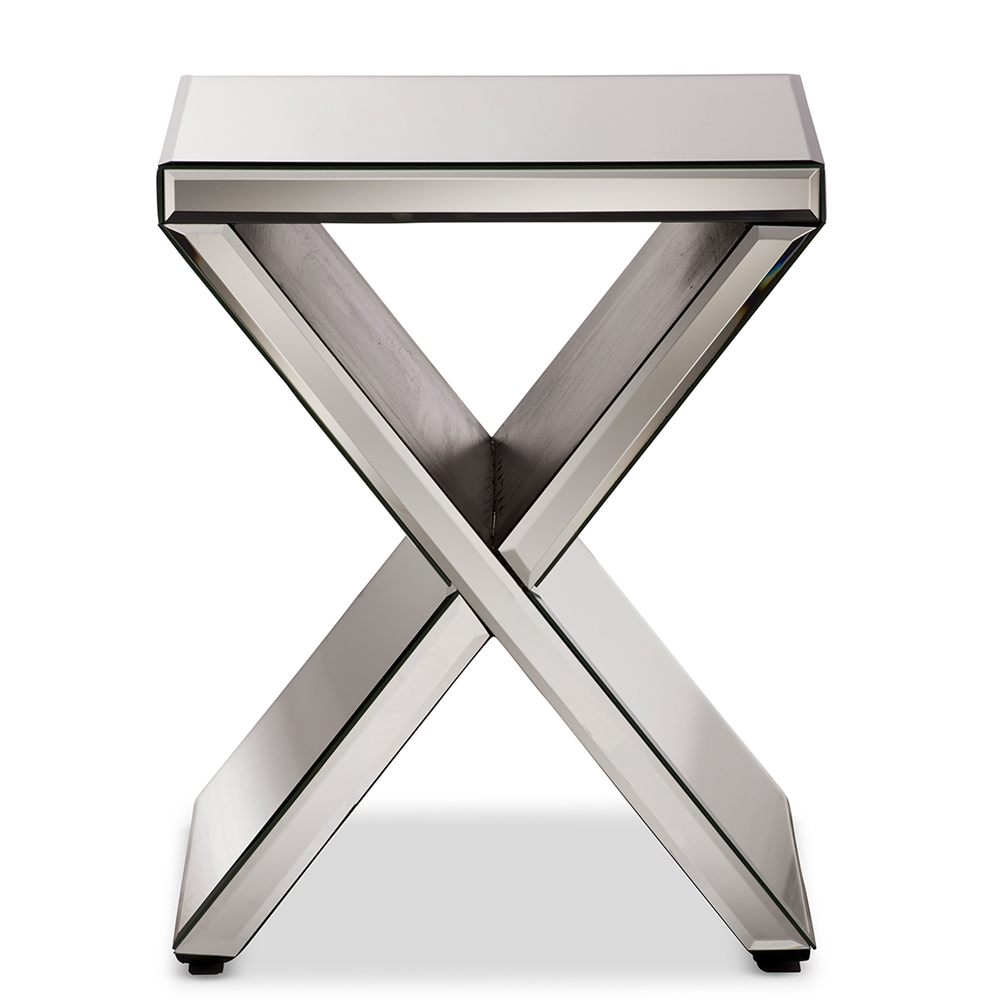 Mirror X Side Table
