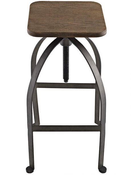 reclaimed wood square barstool 3 1 461x614