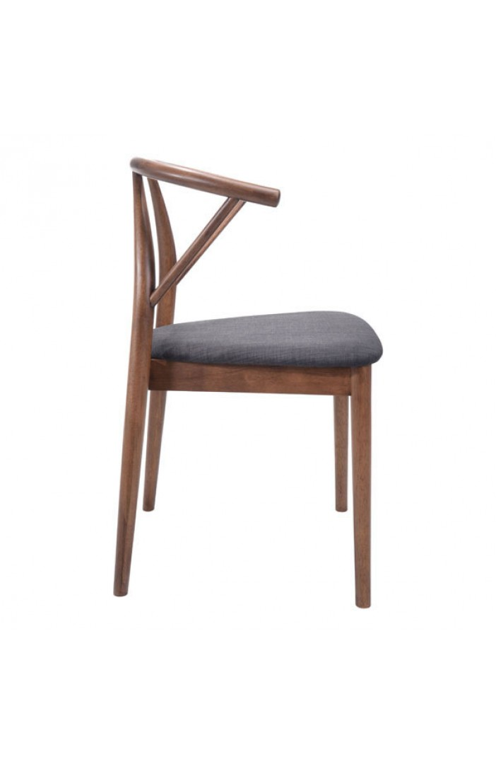 scandinavian wood chair