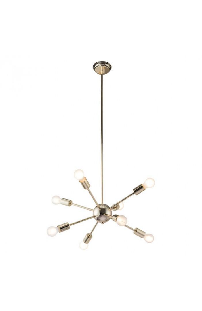 sputnik space gold chandelier 3