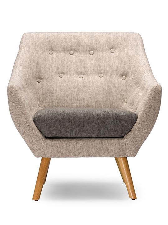 Harmony Mid Century Sofa Armchair