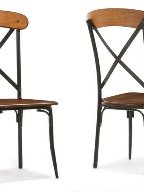 X wood industrial chair set 3 461x614