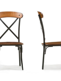 X wood industrial chair set 4 237x315