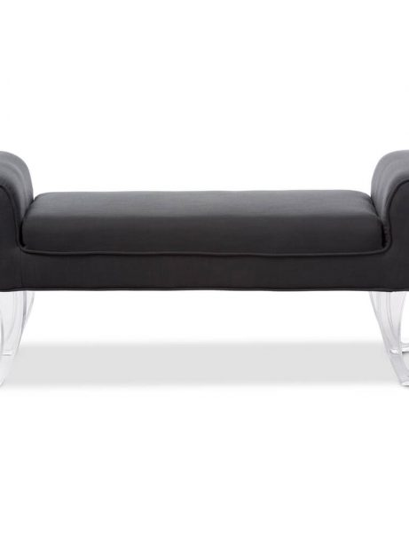 allure gray fabric bench 3 461x614