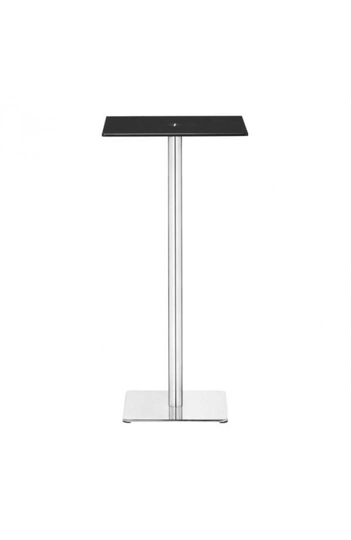 black square glass bar table 2