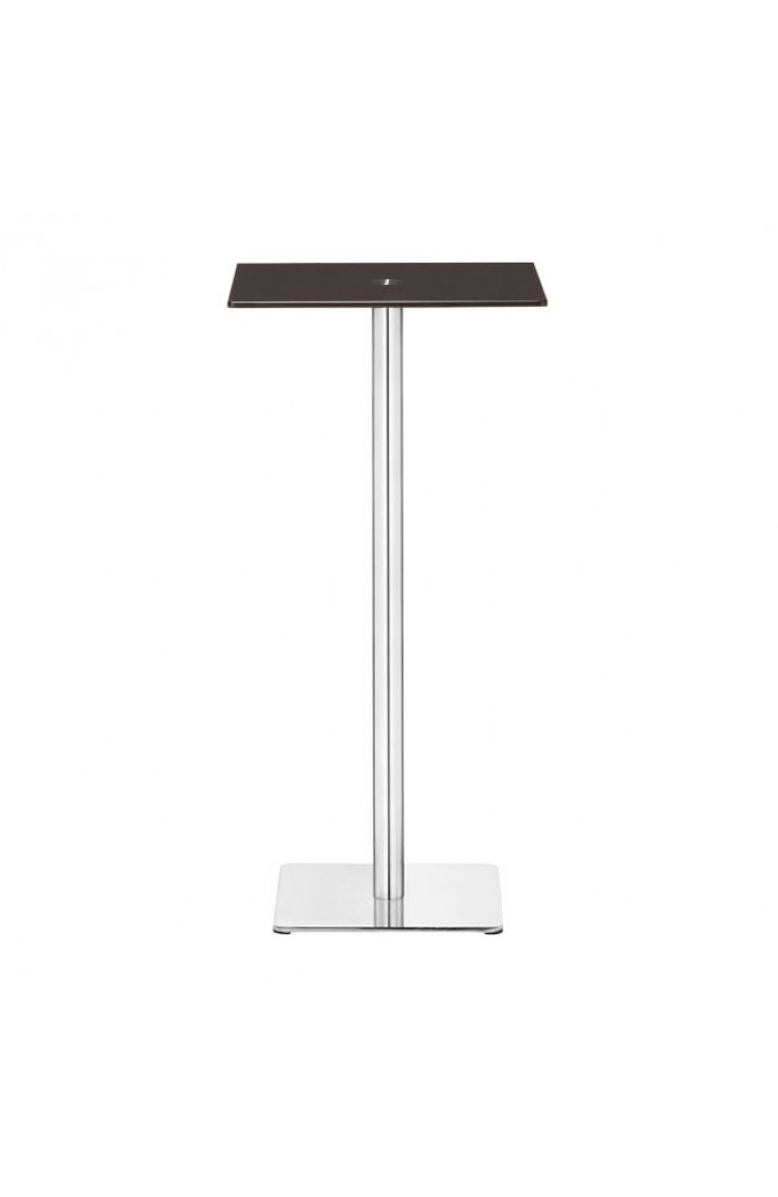 brown square glass bar table 2