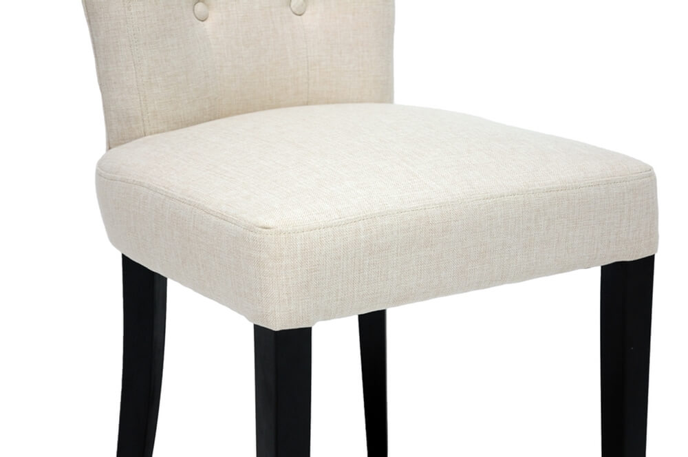honor beige plush chair