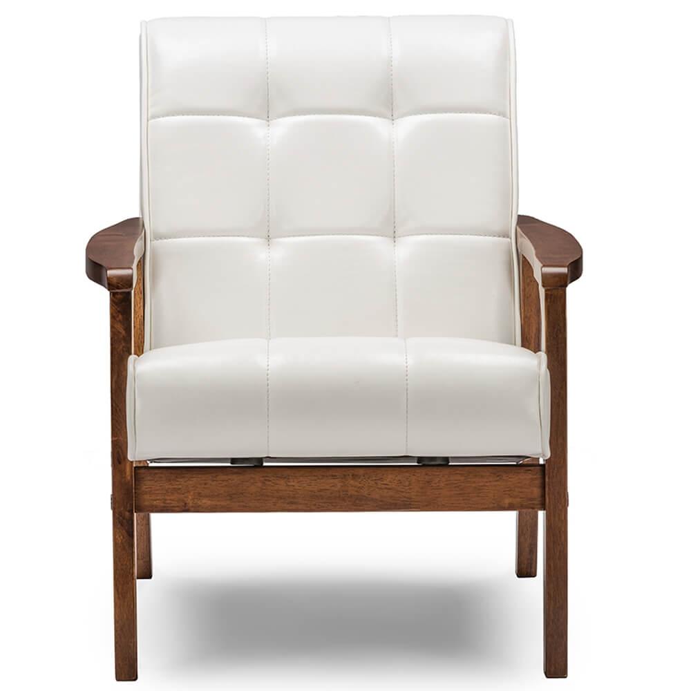 white teleporter armchair 2