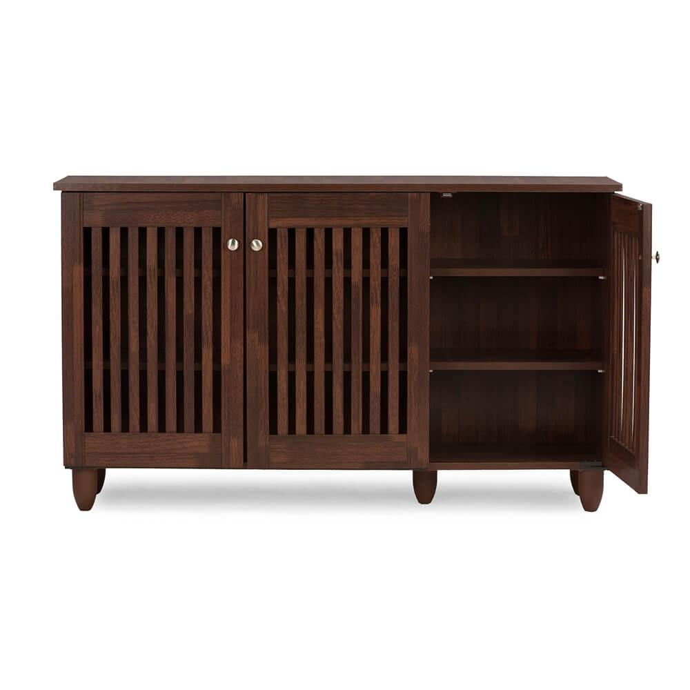 Hester Brown Oak Wood Cabinet 3