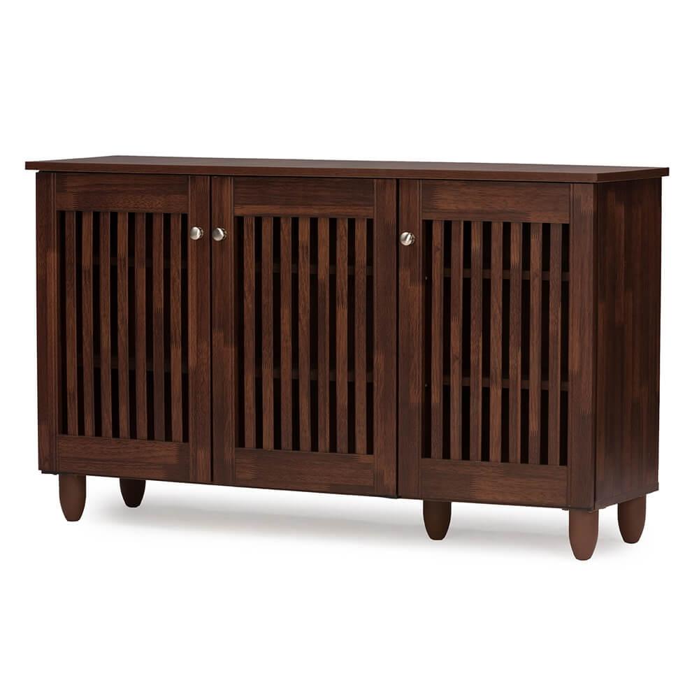 Hester Brown Oak Wood Cabinet 4