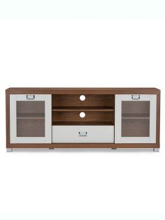 Walnut White Tv Stand 237x315