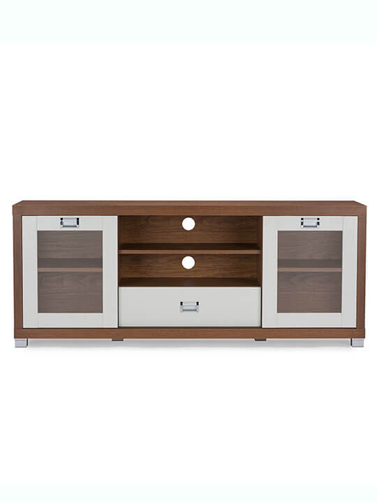 Walnut White Tv Stand