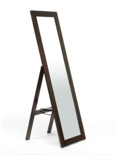 Walnut Wood Full Length Standing Mirror 237x315