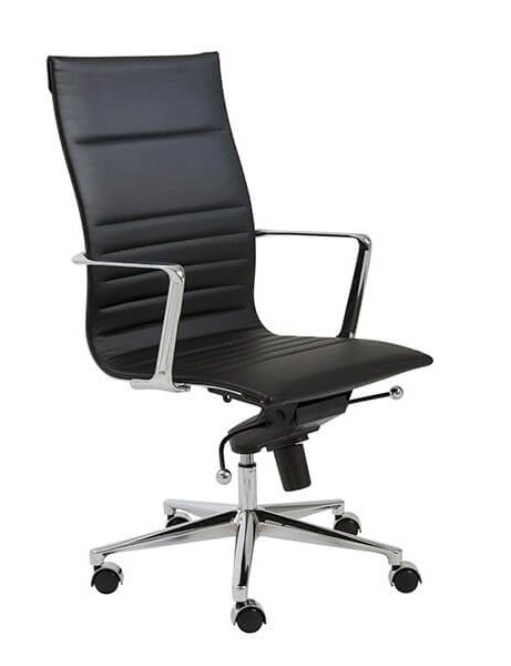 capital high back office chair black 2 461x600