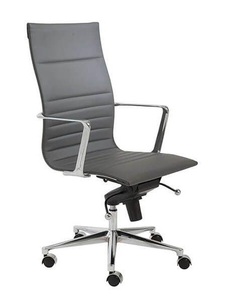 capital high back office chair grey 2 461x600