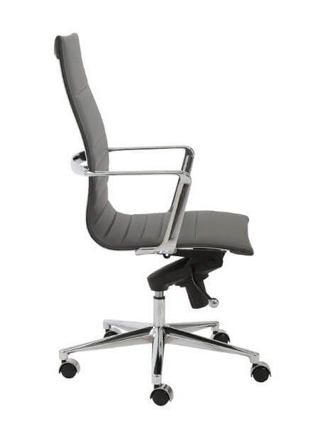 capital high back office chair grey 3 461x600