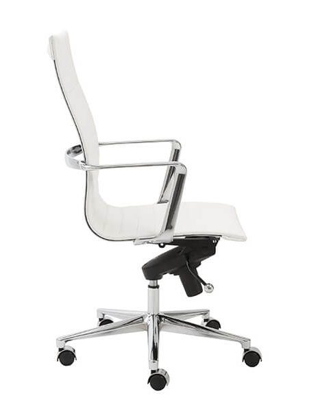 capital high back office chair white 3 461x600