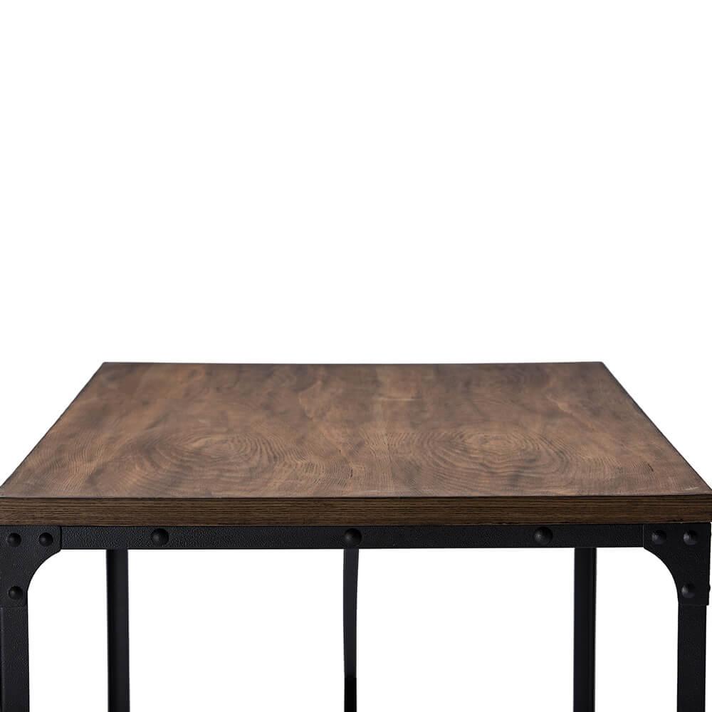 industrial wood desk 4