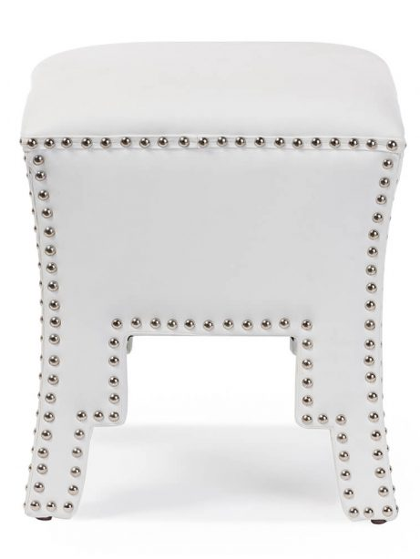 tufted stud white leather ottoman 461x614