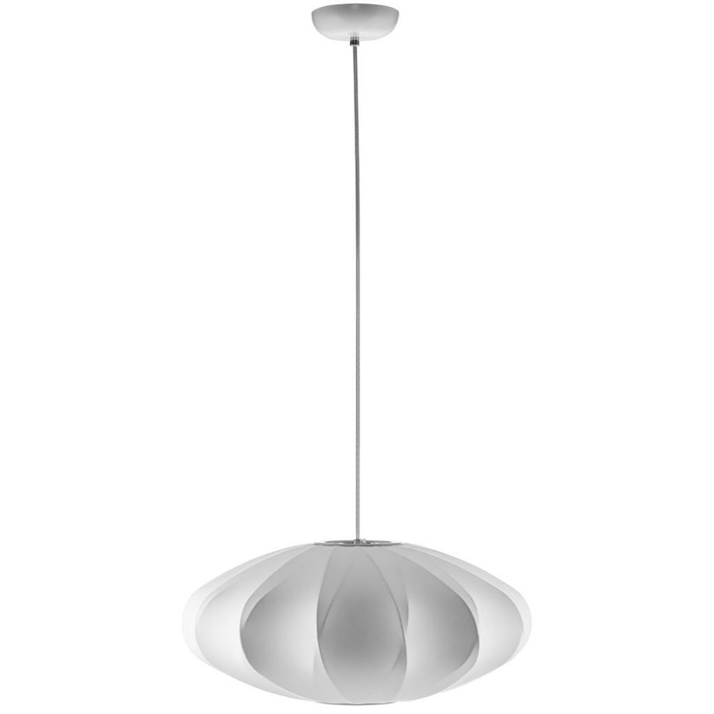white globe pendant light