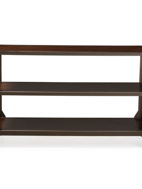 Bronze metal rolling console table 1 461x614