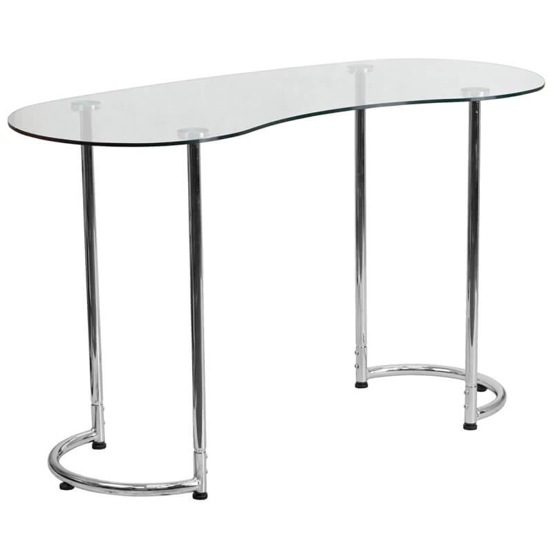 Glass Shape Desk 2