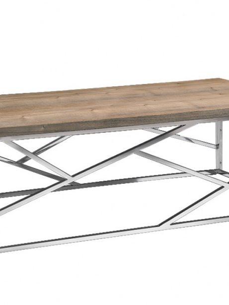Aero Chrome Wood Coffee Table 1 461x614