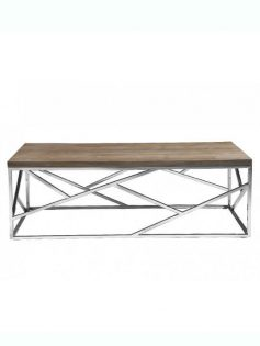 aero chrome wood coffee table 237x315
