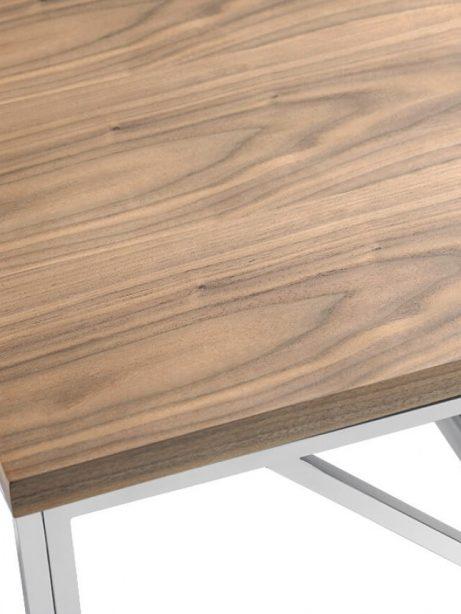 aero chrome wood side table 2 461x614