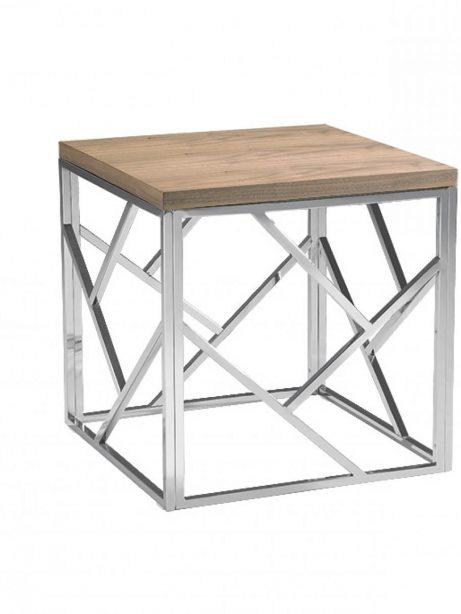 aero chrome wood side table 3 461x614