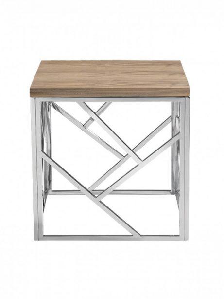 aero chrome wood side table 4 461x614