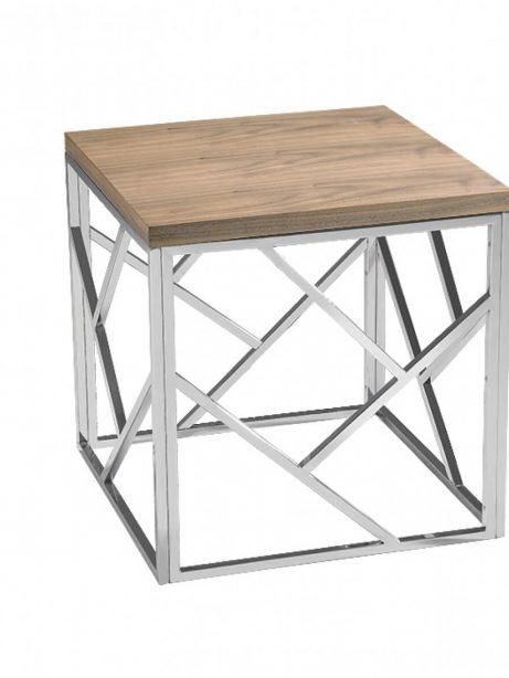 aero chrome wood side table 5 461x614