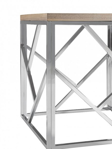 aero chrome wood side table 6 461x614