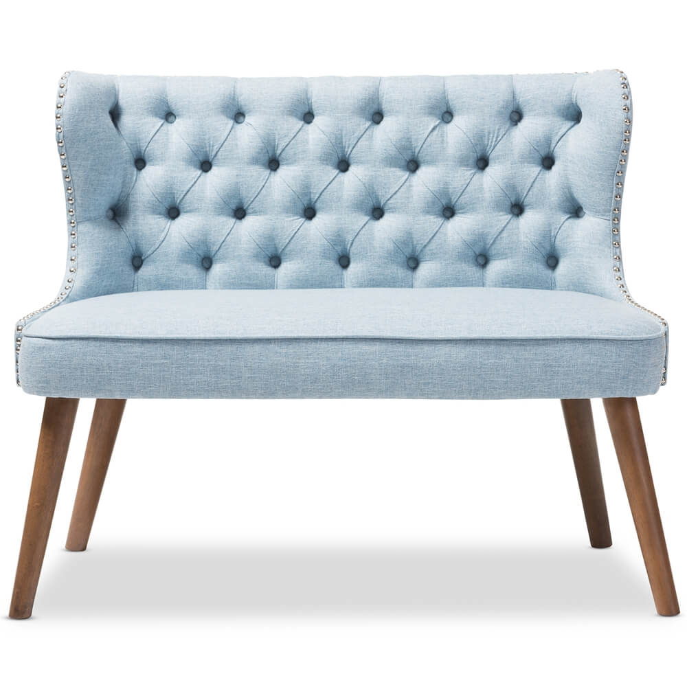blue english breakfast loveseat
