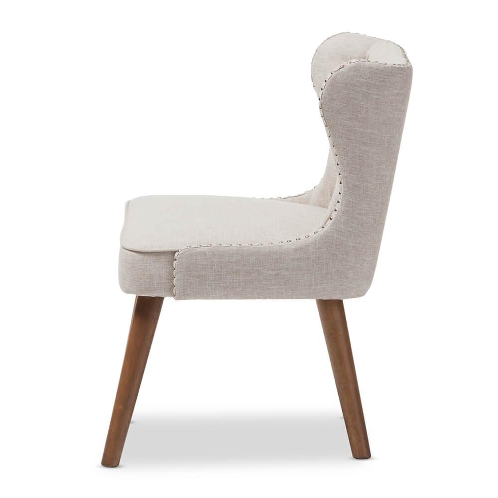 english breakfast acent chair beige