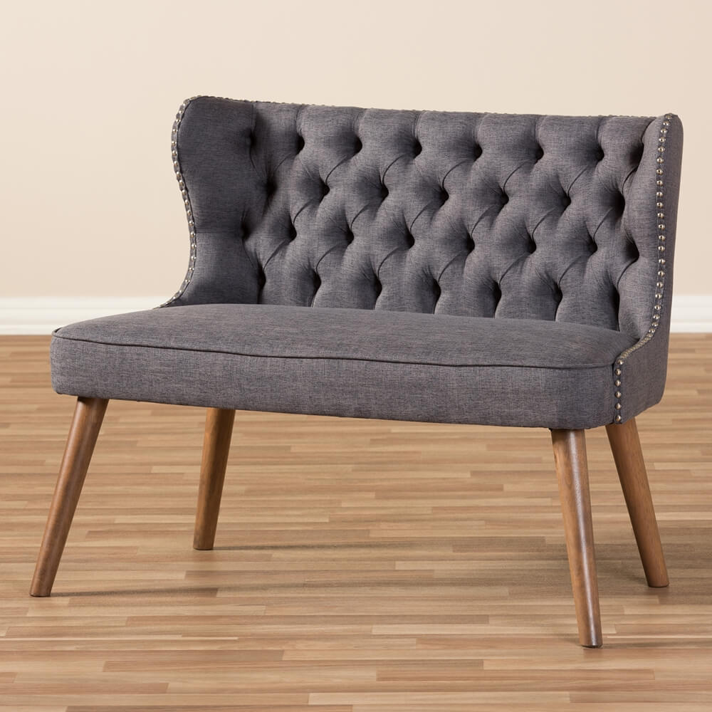 english breakfast loveseat grey
